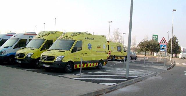 Ambulancias Egara se instala en el la Central Integrada de Mercancías de Lleida