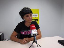 Gabriel (CUP) cree que fijar la fecha del referéndum serviría para arrancar la campaña