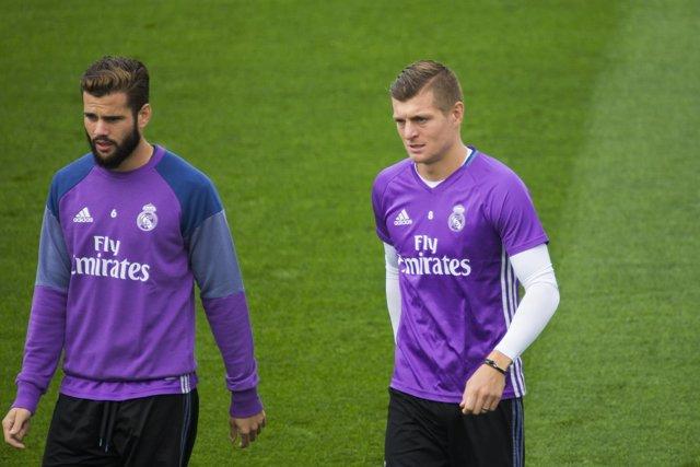 Kroos y Nacho