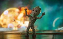 Baby Groot vuelve a bailar en el nuevo tráiler de Guardianes de la Galaxia Vol. 2