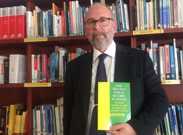 Pere Brachfield, con su nuevo libro