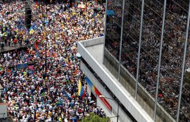Procesadas 14 personas por los disturbios durante la manifestación de la oposición venezolana de este sábado