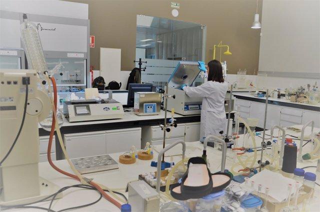 Laboratorio químico del CTCR