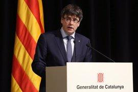 """Carles Puigdemont, """"chocado"""" por la muerte de Carme Chacón, traslada su afecto a su entorno"""