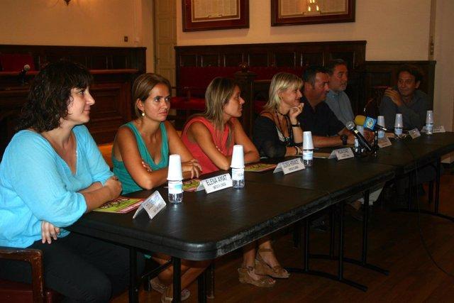 Pilar Díaz Con Concejales De Movilidad