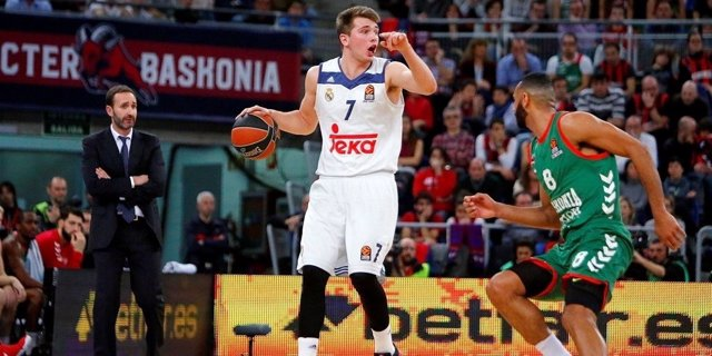 El base del Real Madrid Luka Doncic