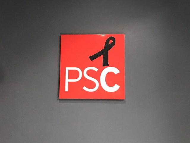 Crespón negro del PSC