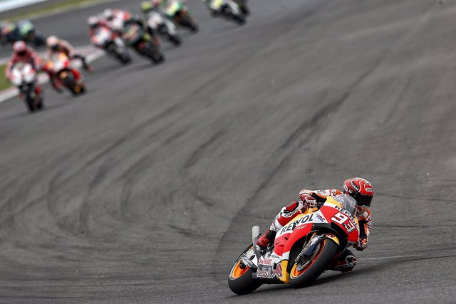 El piloto español de MotoGP Mar Márquez