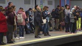 El sindicato de Maquinistas de Metro convoca este lunes una nueva jornada de paros