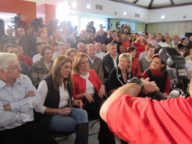 Chacón, en un acto en Olula del Río (Almería)