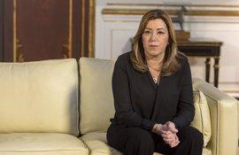 """Susana Díaz: """"Carme era una mujer valiente y extraordinaria, mi amiga y compañera"""""""