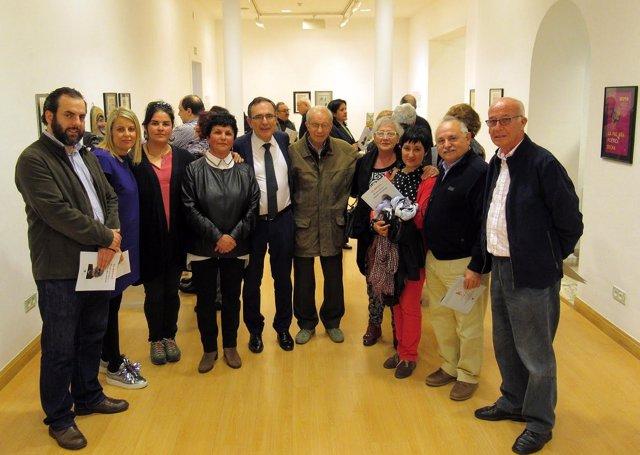 Inauguración  de la exposición dedicada a Antonio Montesino en el CN Foto