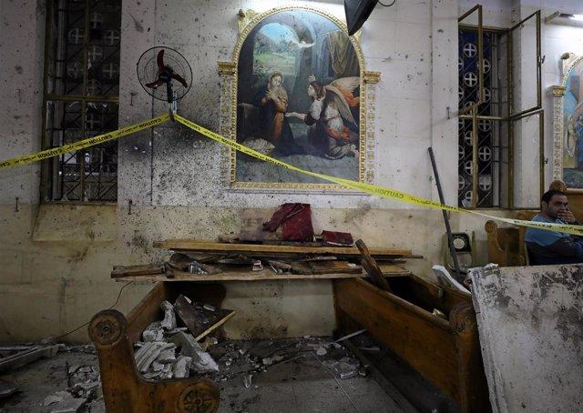 Atentado contra la Iglesia de San Jorge en Tanta, Egipto