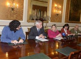 Diputación de Cádiz renueva colabora con Bancos de Alimentos, la APC y 'Alternativas'