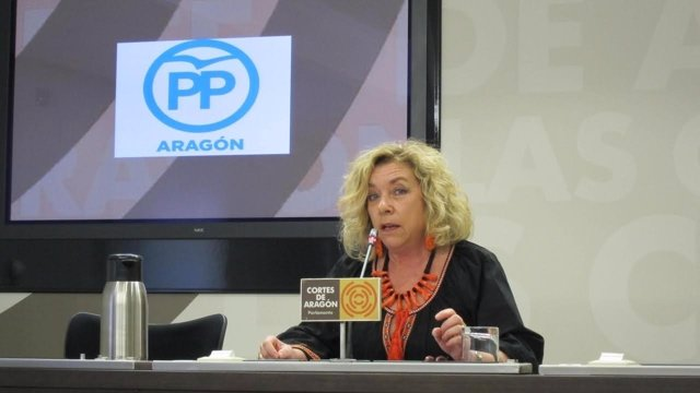 La diputada del PP Dolores Serrat.