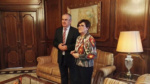 Rafael González Tovar y Rosa Peñalver