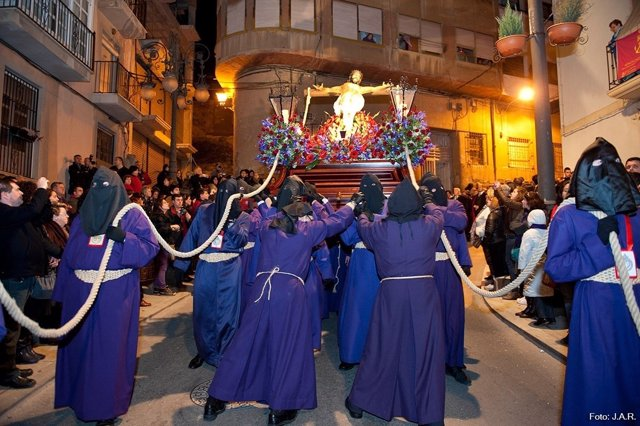 Procesión del Cristo del Socorro de Cartagena