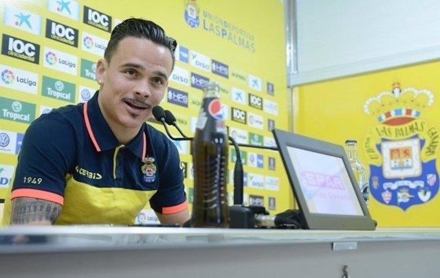 Roque Mesa, jugador de la UD Las Palmas