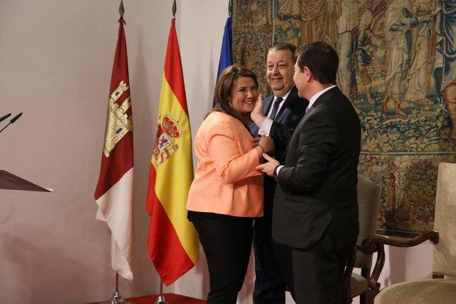 García Élez en su toma de posesión
