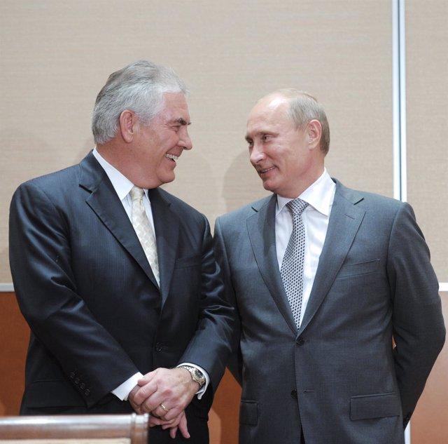 Rex Tillerson y Putin