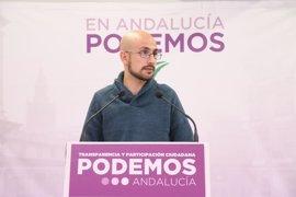 Podemos Andalucía insiste en la necesidad de revisar los protocolos militares y de mantener un alto el fuego en Siria