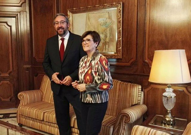 Víctor Manuel Martínez y Rosa Peñalver