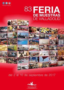 Cartel de la 83 Feria de Muestras de Valladolid