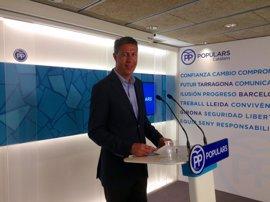 Albiol dice que el Govern miente sobre la comitiva de la reunión Puigdemont-Carter