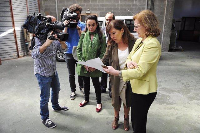 La conselleira de Medio Ambiente en un acto en A Coruña.