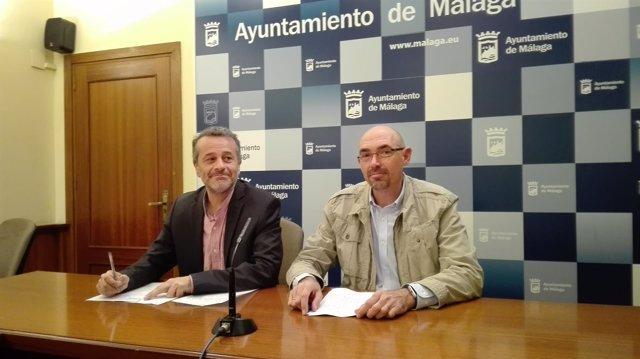 Castro zorrilla ayuntamiento málaga junta para la gente izquierda unida iu
