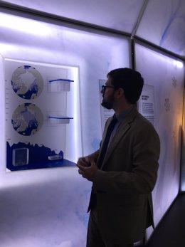 Toni Pou, comisario de la exposición 'El Ártico se rompe'