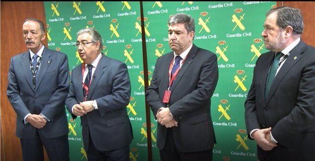 Pablo Martín, Zoido, José María Holgado y el general Salas