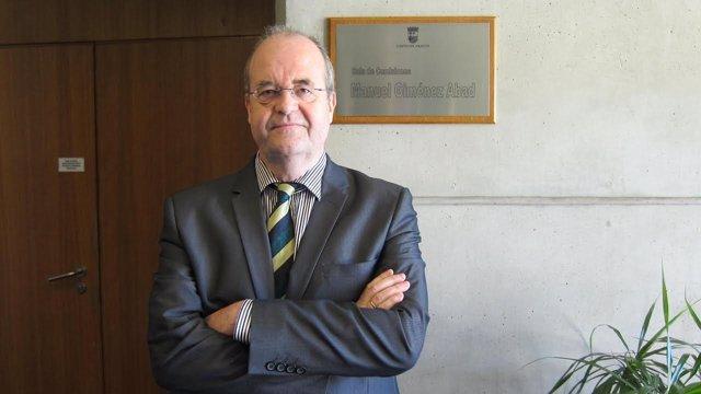 El catedrático de Economía Pública de la Universidad de Zaragoza, Julio López.