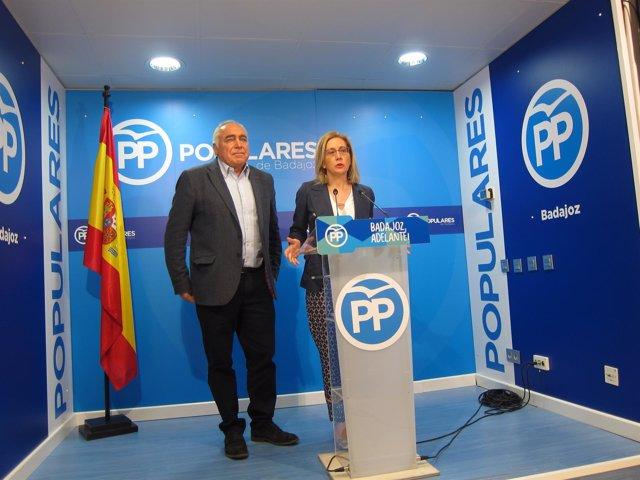Teresa Angulo y Pedro Acedo