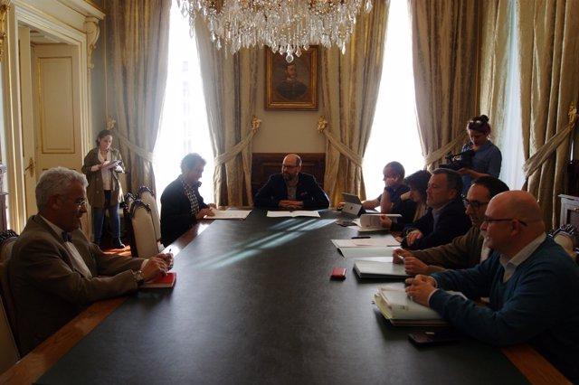 Comisión para la municipalización de la ORA de Santiago