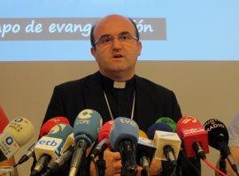 """Munilla niega que la Iglesia estuviera en el desarme de ETA y dice que Zuppi asistió """"por su cuenta y riesgo"""""""
