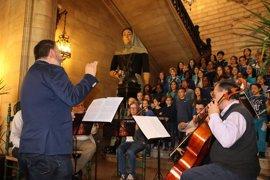 Alumnos de son Canals y Rafal Nou actúan en un concierto de música clásica en Cort