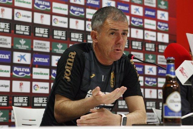 Lucas Alcaraz, entrenador del Granada