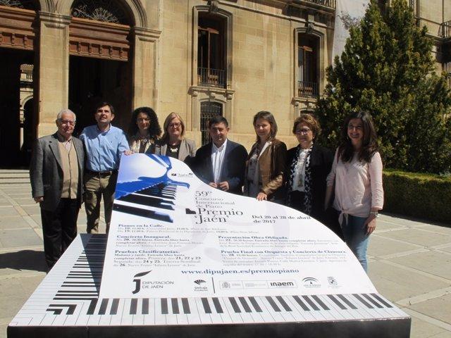 Presentación del 59º Premio 'Jaén' de Piano