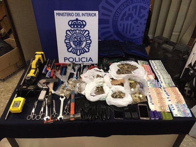 Policía Nacional desarticula un grupo criminal
