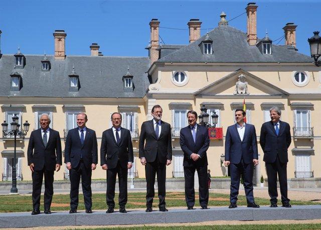 Cumbre de países del Sur de la UE en El Pardo