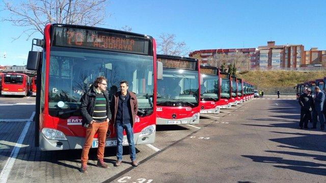 La EMT València comprará nuevos autobuses este año