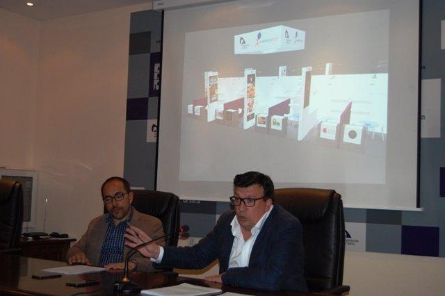 Soria: Luis Rey (I) Y Jesú Cedazo (D)