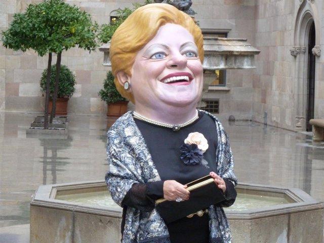 La 'Grossa de Cap d'Any' en el Palau de la Generalitat