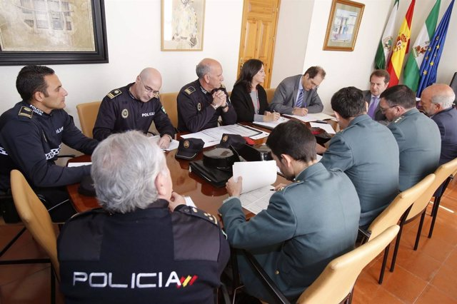 Junta local de seguridad.