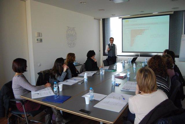 Una sesión de formación específica de comercio internacional
