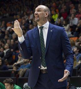 Zan Tabak Valencia Basket contra Real Betis Energía Plus
