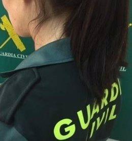 Mujer de la Guardia Civil
