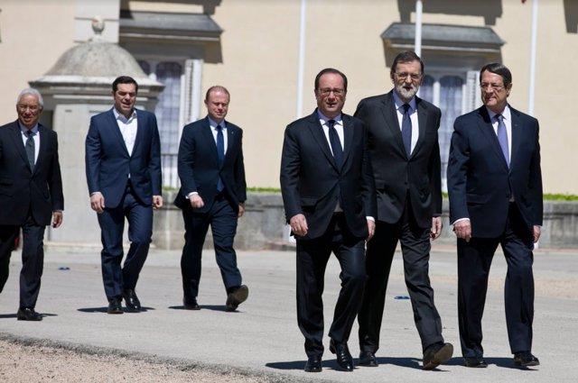 Mariano Rajoy en la III Cumbre de Países del Sur de la UE