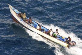 Las fuerzas de Somalia liberan un barco secuestrado a principios de abril frente a las costas del país